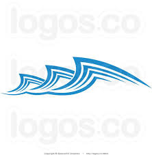 Simple Water Waves Clipart