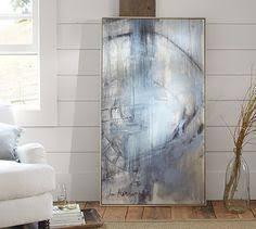 Orbit Study 2 Blue And Gray Wall Art