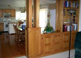 Hall Dining Partition Ideas Kitchen Counter Dividers Room Divider Counters