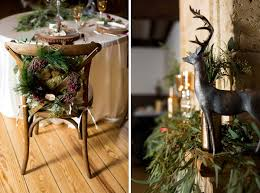 Rustic Christmas Wedding Decoration Ideas 00011