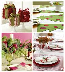 deco noel de table decoration table noel centre de table paquet cadeau set de table