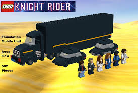 LEGO Knight Rider: Foundation Mobile Unit Set By TDGirlsFanForever ...