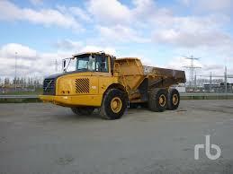 Sale Of VOLVO A30D Dump Trucks By Auction, Tipper Truck, Dumper ...
