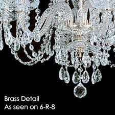 Swarovski Crystal Lamp Finials by 8 R 10 Short 8 Light Crystal Chandelier With Swarovski 26