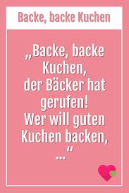 backe backe kuchen kinder lied kinderlieder beliebte