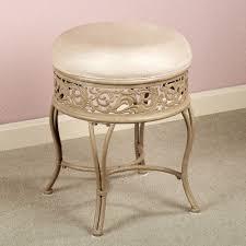 vanetta backless vanity stool