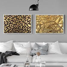 neue retro chassical gold bronze dekoration leinwand malerei wohnzimmer schlafzimmer wand kunst drucken meer wand bild wohnzimmer