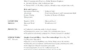 Skills Sample Resume Office List For Retail Cover
