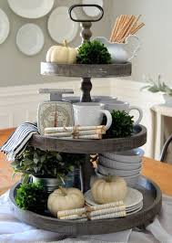 Wooden 3 Tier Tray