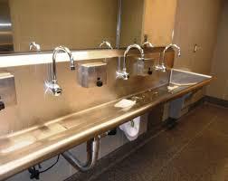 Two Faucet Trough Bathroom Sink by Sink Trough Sink Bathroom 35 Trough Sink Bathroom Popular
