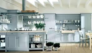 light blue kitchen moute