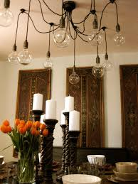 Decorations For Dining Room Table by Creative Candle Centerpieces Hgtv