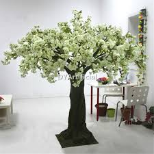 Christmas Tree 10ft by 260cm Artificial Cream White Cherry Tree For Wedding Entrance Dongyi