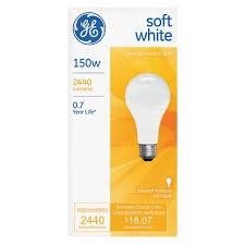ge softwhite bulb 150w 2pk walmart