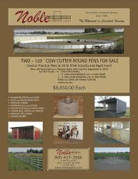 Livestock Loafing Shed Plans by Idaho Cutting Horse Association