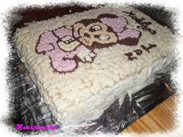 gâteau d anniversaire minnie la cuisine de nini