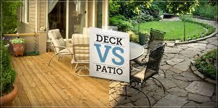 The Deck & Patio Debate