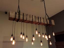 Lighting Fixtures Cool Twenty Mason Jar Rustic Pallet Light