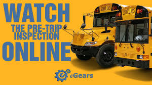school bus pre trip inspection for cdl test youtube