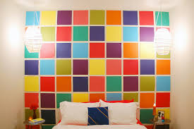 Create A Cool Custom Wall Using Colorful Scrapbook Papers Tutorial The Swell Designer