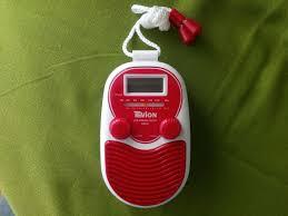 bad radio lcd uhr neu tragbarer ukw radio in 81827 münchen