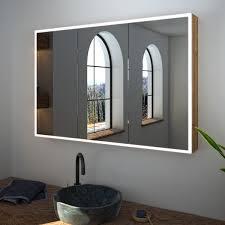spiegelschrank nach maß mit led credo badspiegel shop