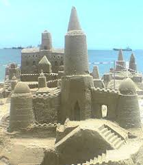 Simple Sand Castle Designs