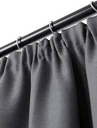 rollmayer vorhang mit bleistift melo c8 dunkel schwarzgrau 140x240 bxh blickdicht gardinen für schlafzimmer kinderzimmer wohnzimmer
