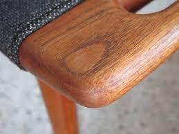 Authentic Hans Wegner Papa Bear Chair by Original Hans Wegner Papa Bear Chair Ottoman At 1stdibs