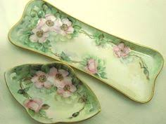 Vanity Dresser Set Accessories by One Of The Finest Porcelain Dresser Sets Has Both Limoges