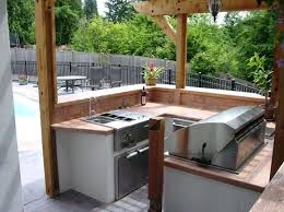 Outdoor Kitchen Ideas For Small Spaces With Green Egg