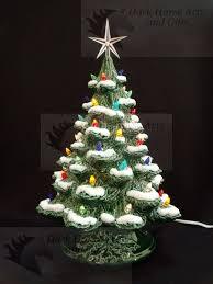 Winter Wonderland Ceramic Christmas Tree 16 Inches