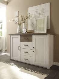 kommode luca sideboard wohnzimmer schlafzimmer flur weiß pinie braun trüffel
