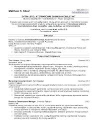Resume Examples For Freshmen College Students Together With Samples And Recent Grads