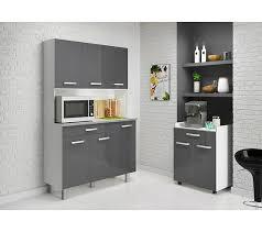 buffet de cuisine gris buffet pixel 3386 gris brillant buffets et dessertes but