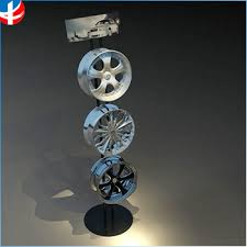 Metal Display Stand Rack For Wheel Rim