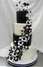 Black And White Wedding Cakes Lovely Wedding Inspiration B15 All About Black And White Wedding Cakes