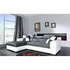 canapé d angle but gris et blanc canapa d angle canape blanc canapac dangle en cuir italien 6