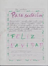 Cartas De Ninos A Santa