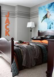 18 wand zweifarbig streichen ideen schlafzimmer boys