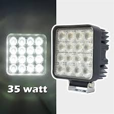 35W High Power Work Light For 4WD Off Road Vehicle - Xkglow.Com Truck Lite Led Work Light 4 81520 Trucklite Pair 27w Epistar Square Offroad Flood Lamp Boat Jiawen Car Styling 30w Dc12 24v For Safego 2pcs Work Lights 12v 24v 27w Led Lamps Car Trucks Adds White Auxiliary To Signalstat Lineup X 6 High Powered Beam 1200 Lumens Riorand Water Proof 2 60 Degree Luxurius Lights For Trucks F21 In Stunning Selection With Inch Pod Cree 60w Tri Row Bar Combo 2x 18w Pods Spot Atv Jeep Ute Great 64 On Definition 12 Inch 72w Vehicle