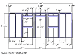 10x20 Shed Plans With Loft by 10x20 Shed Plans Myoutdoorplans Free Woodworking Plans And