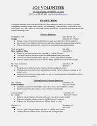 Resume For Cafe Template New Updated Examples Restaurant