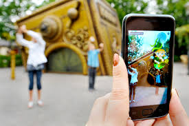 An Augmented Reality Fairytale Game At The Efteling Theme Park