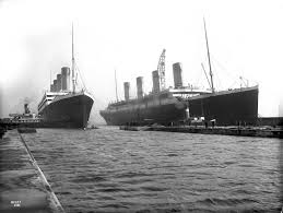 The Sinking Of The Britannic Old Version by File Olympic And Titanic Jpg Wikimedia Commons