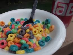 Froot Loops And Tab
