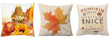Pier One Blue Throw Pillows by Cute Fall Throw Pillow Covers Under 3 Shipped Freebies2deals