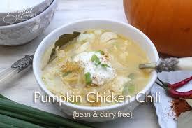 Paleo Pumpkin Chicken Chili by Spoonful Of Health Delicious Gluten Free Recipes Gluten Free