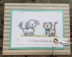 Talk About Loads Of Funfirst Stamp Images With StazOn Ink Onto Whisper White Cardstock 4 1 X 3 To Color The Use Watercolor Pencils And