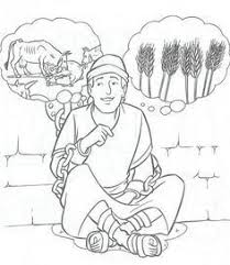 Josephs Dream Coloring Pages